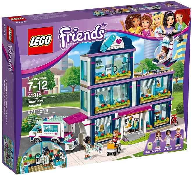 Best deals on LEGO Friends 41318 Heartlake Hospital LEGO - Compare ...