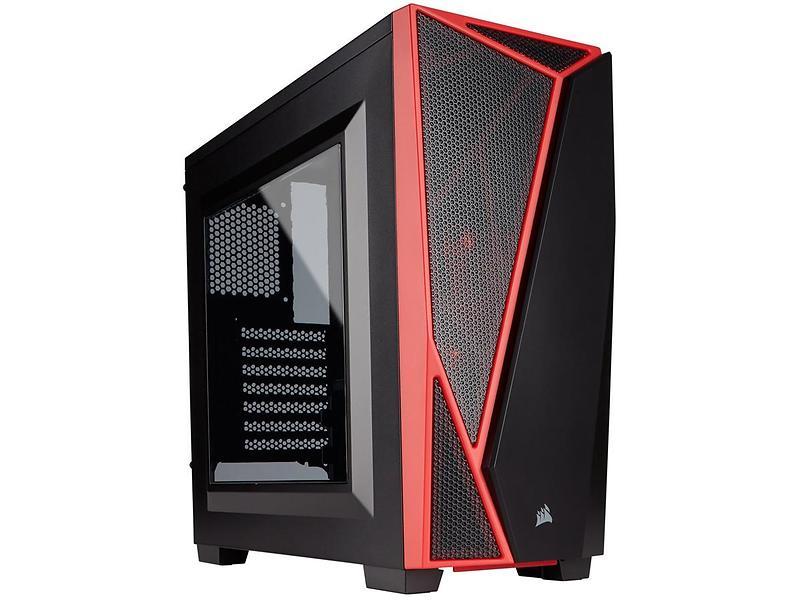 Corsair Carbide SPEC-04 (Nero/Rosso/Trasparente)