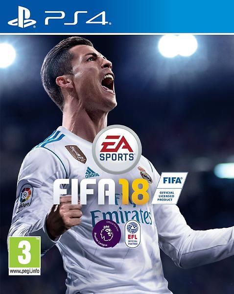 Bild på FIFA 18 från Prisjakt.nu