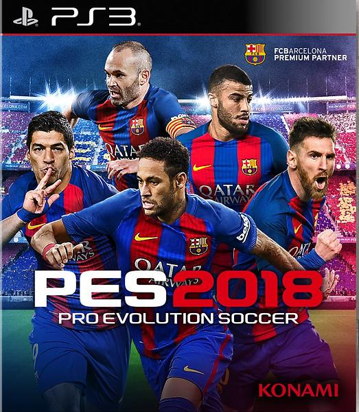 Pro Evolution Soccer 2018 (PS3)