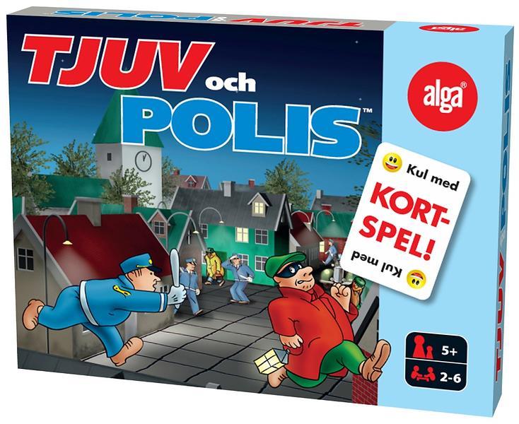 Jämför priser på Tjuv och Polis  Kortspel Sällskapsspel - Hitta bästa pris  på Prisjakt a7b4ebe85a3d2