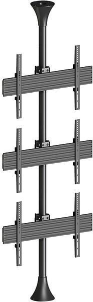 Multibrackets M Floor To Ceiling Mount 3U Pro Floor-Ceiling