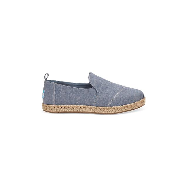 Toms Deconstructed Alpargatas Canvas Espadrille Slip-On (Donna)