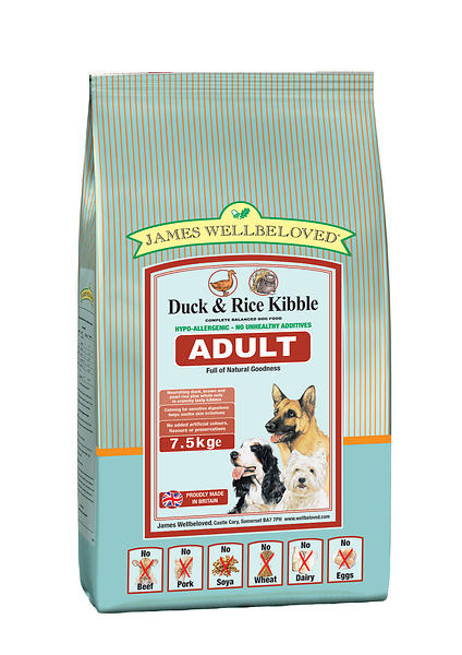 Best Deals On James Wellbeloved Dog Adult Duck Amp Rice 2kg