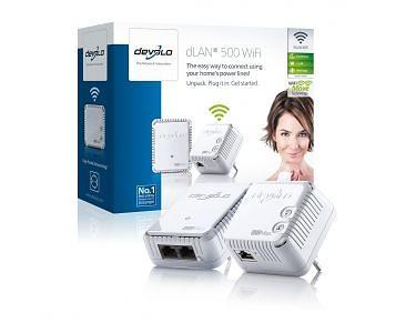 Devolo dLAN 500 WiFi Starter Kit (9086)