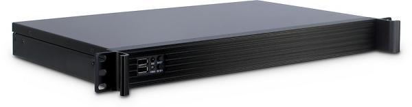 Inter-Tech IPC 1U-K-126L (Nero)