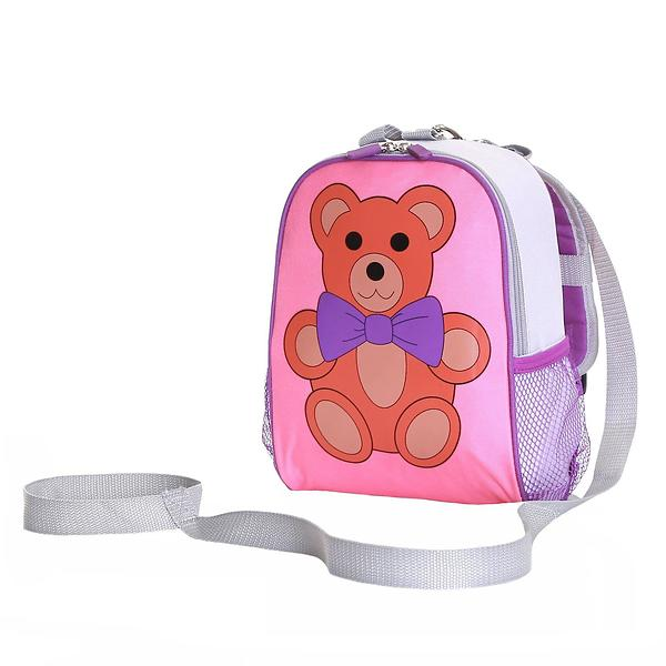 Karabar Wobbly Forest Teddy Toddler Backpack With Safety Rein