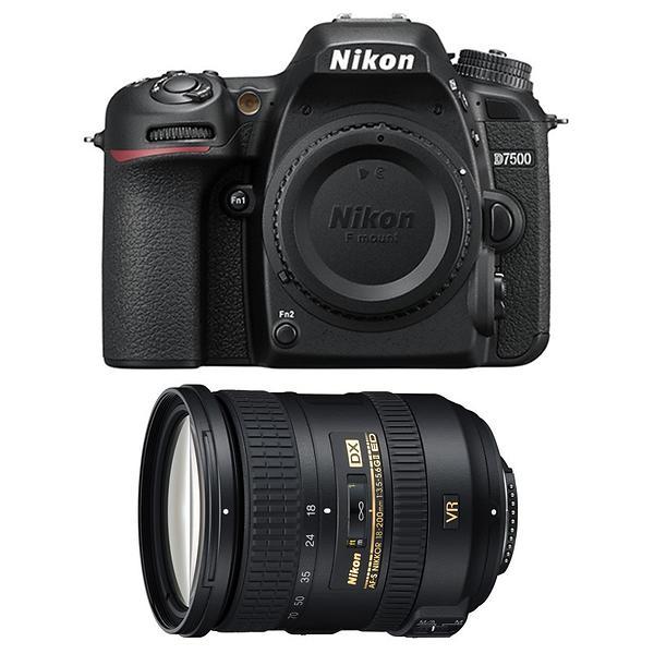 Nikon D7500 + 18-200/3,5-5,6 G ED VR II