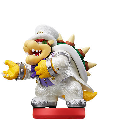 Nintendo Amiibo - Bowser (Wedding Outfit)