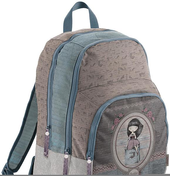 Miquelrius Anekke Cozy & Faith Triple Backpack (Jr)