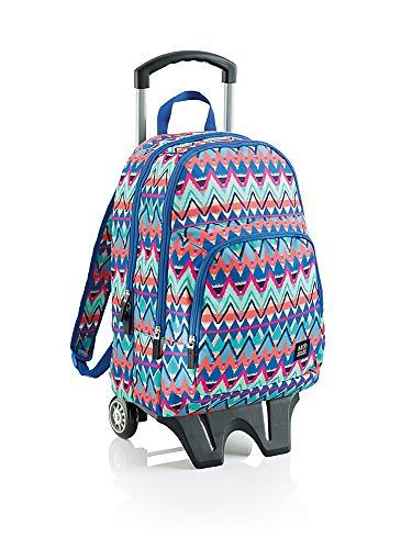 Miquelrius American Tribal Triple Backpack with Trolley (Jr)