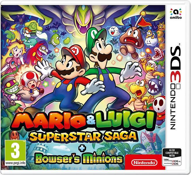 Bild på Mario & Luigi: Superstar Saga + Bowser's Minions från Prisjakt.nu