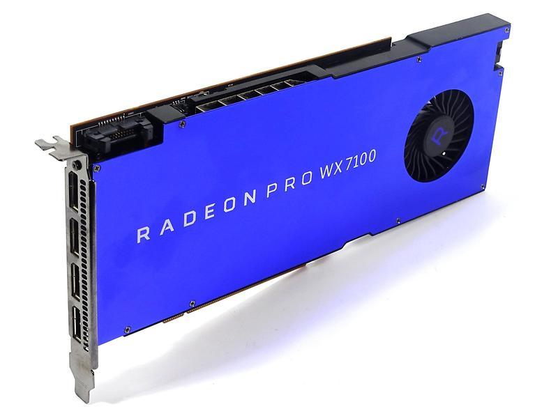 AMD Radeon Pro WX 7100 4xDP 8GB