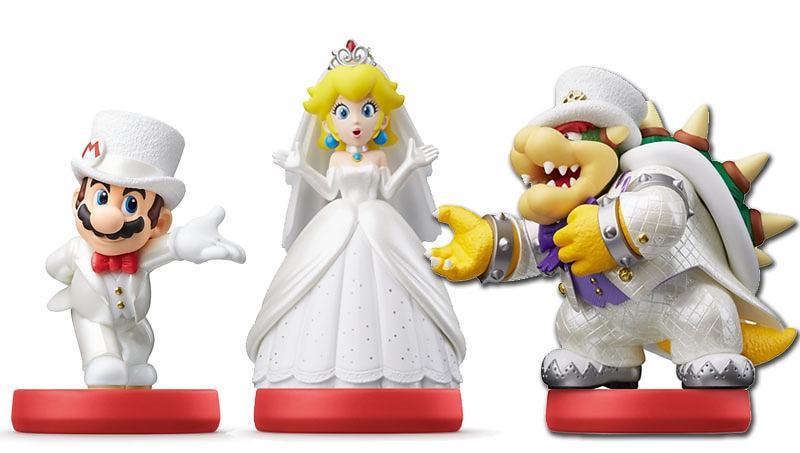 Nintendo Amiibo - Wedding 3 Pack