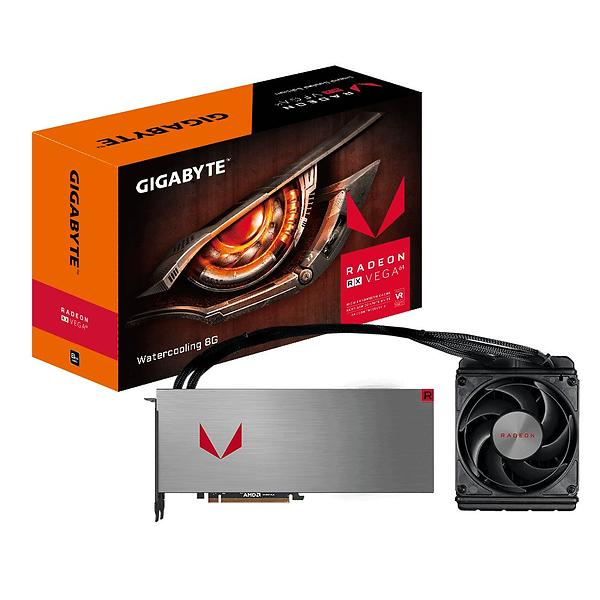 Gigabyte Radeon RX Vega 64 Watercooling HDMI 3xDP 8GB