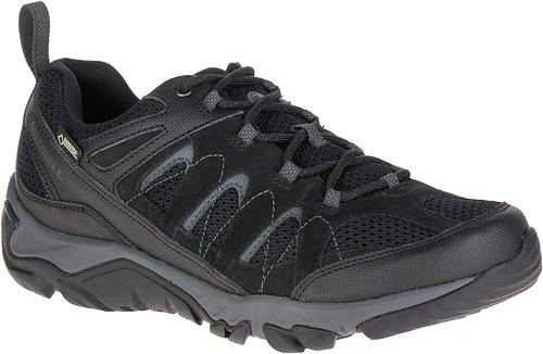 Merrell Outmost Vent GTX, Scarpe da Camminata ed Escursionismo Uomo Boulder, Marrone (Boulder), 43 EU