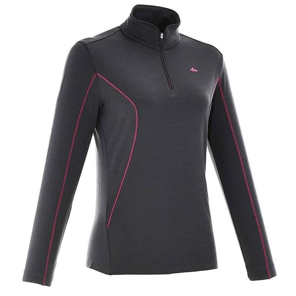 Quechua Techwool 190 LS Shirt Half Zip (Donna)