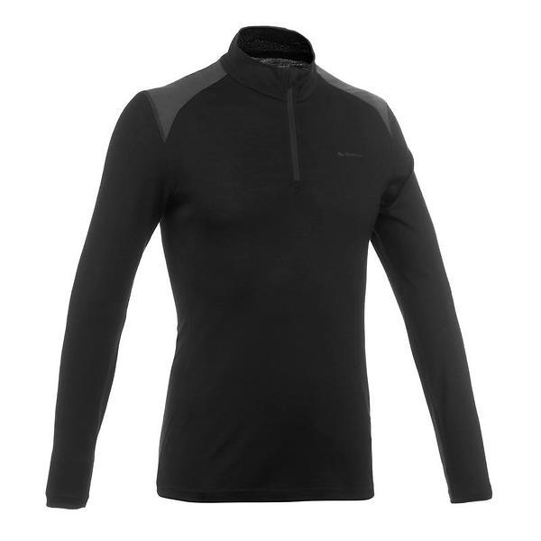 Quechua Techwool 190 LS Shirt Half Zip (Uomo)