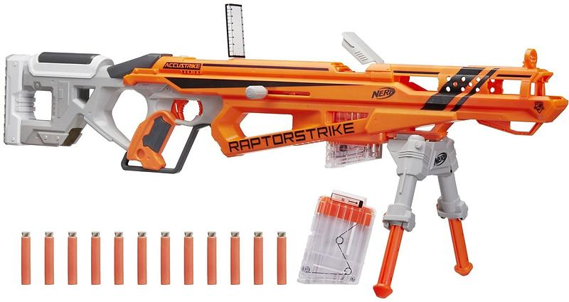 Best deals on NERF N-Strike Elite Accustrike Series Raptorstrike Blaster  NERF-Guns - Compare prices on PriceSpy
