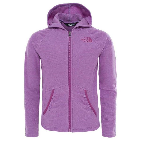 The North Face Mezzaluna Full Zip Fleece Hoodie (Jr)