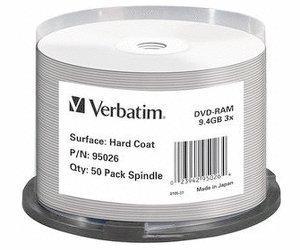 Verbatim DVD-RAM 9,4GB 3x 50pz Spindle