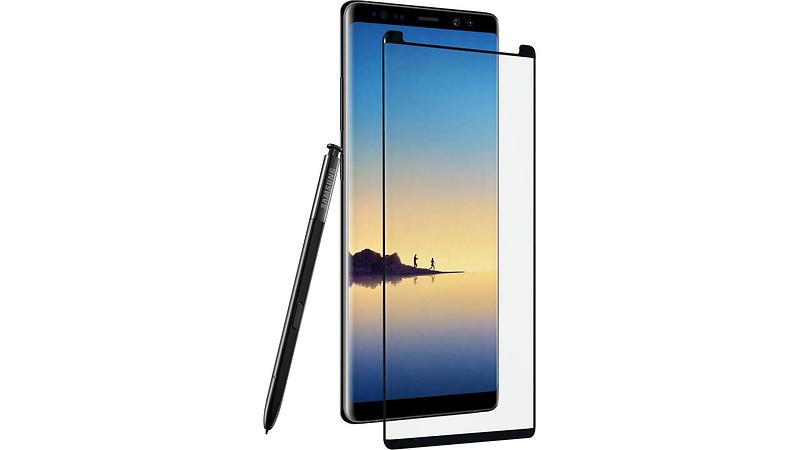 Zagg InvisibleSHIELD Glass Contour for Samsung Galaxy Note 8