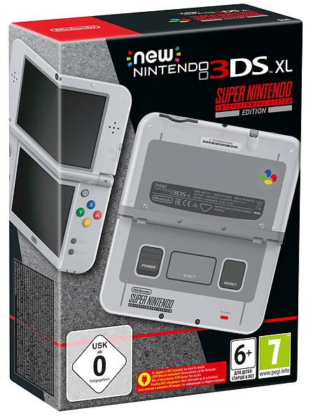 Nintendo New 3DS XL - SNES Edition