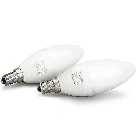 Philips Hue White Ambiance B39 6500K E14 6W 2-pack (Dimmerabile)