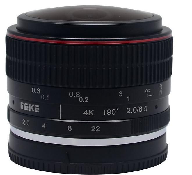 Meike MK 6,5/2,0 Fisheye for Canon EF-M