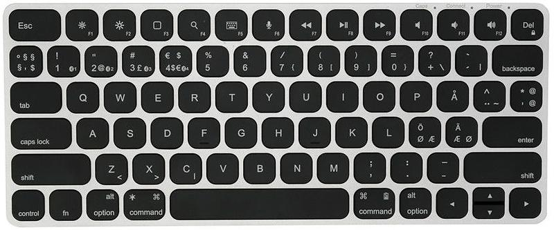 Bild på Kanex MultiSync Premium Slim Bluetooth Keyboard for Mac (Nordisk) från Prisjakt.nu
