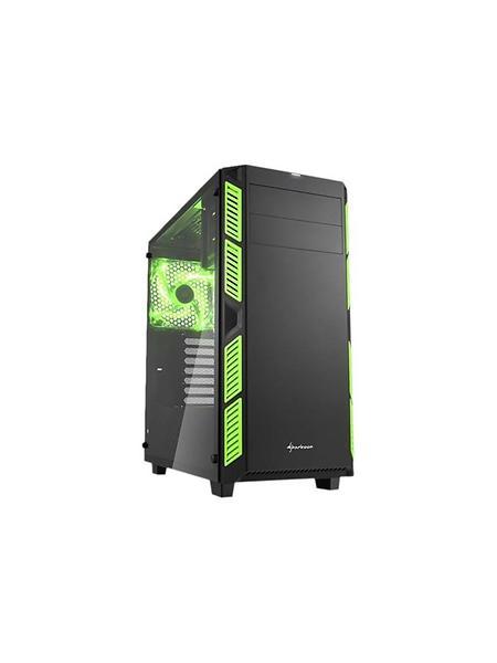 Sharkoon AI7000 Glass (Nero/Verde/Trasparente)