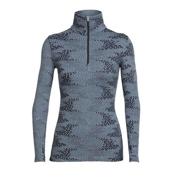 Icebreaker Vertex Flurry LS Shirt Half Zip (Donna)