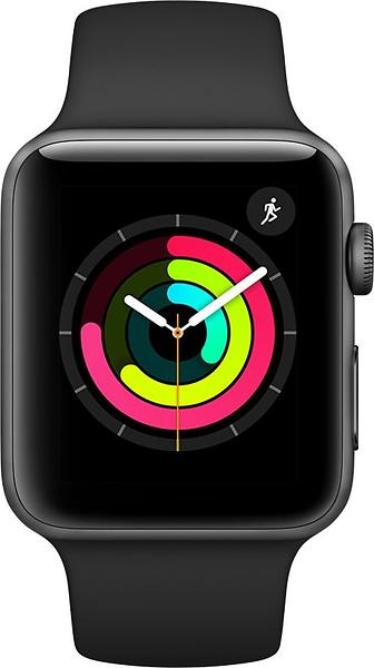 Bild på Apple Watch Series 3 38mm Aluminium with Sport Band från Prisjakt.nu
