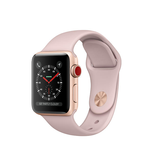 Apple Watch Series 3 4G 38mm Aluminium with Sport Band