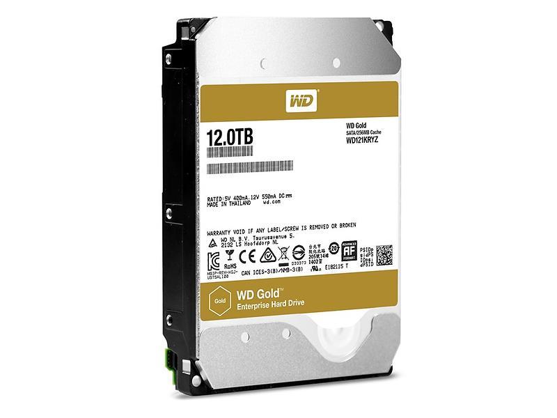 WD Gold WD121KRYZ 256MB 12TB