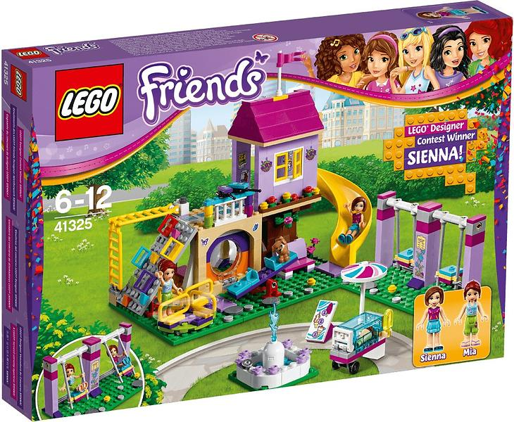 lego friends 41325 le terrain de jeu d 39 heartlake city au meilleur prix comparez les offres de. Black Bedroom Furniture Sets. Home Design Ideas