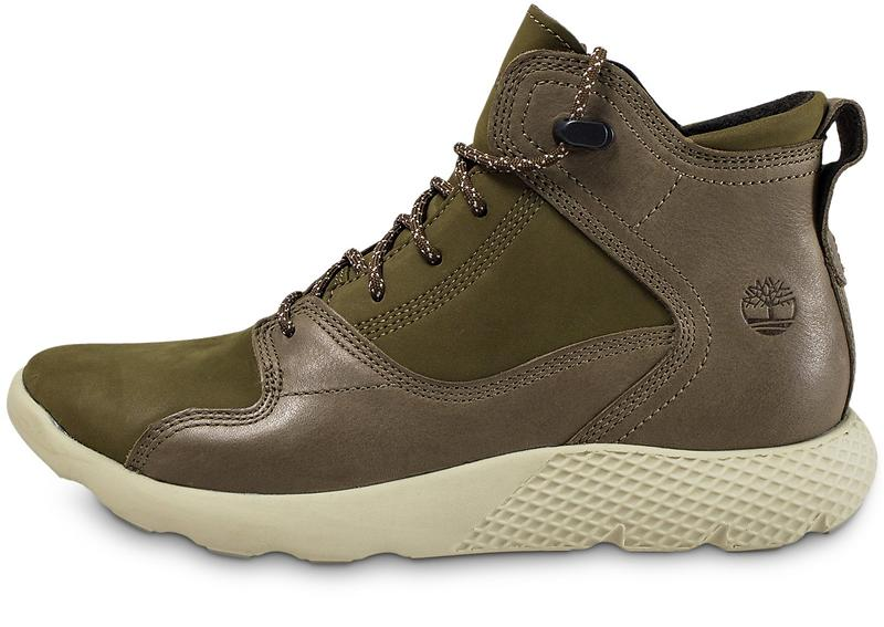 Timberland FlyRoam Leather Sneakerboot Uomo