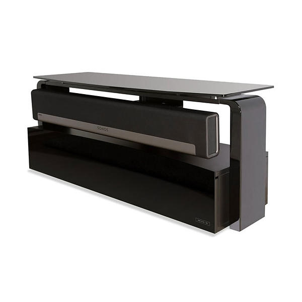 Alphason Sonos Playbar Black TV Stand 104x32cm