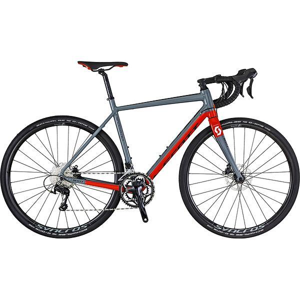 scott speedster gravel 10 disc 2018 bicicletta al miglior