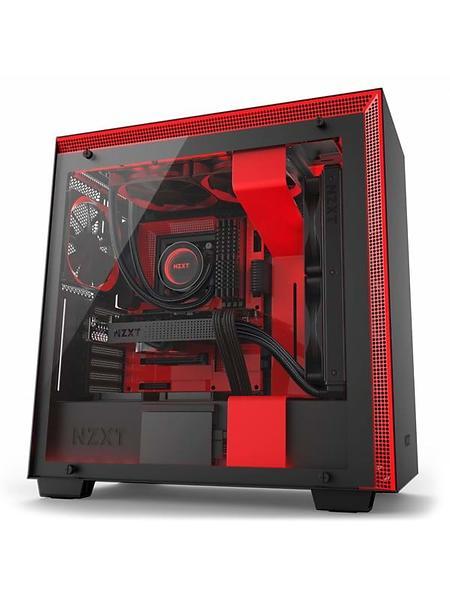 historique de prix de nzxt h700i noir rouge transparent bo tier pc trouver le meilleur prix. Black Bedroom Furniture Sets. Home Design Ideas