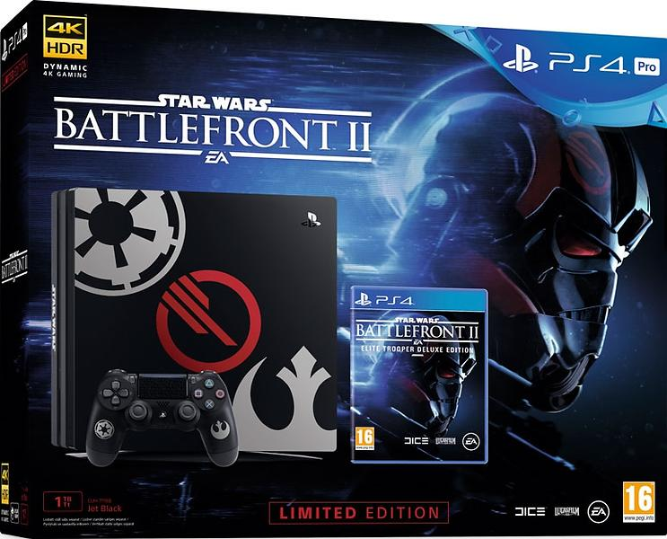 Sony PlayStation 4 Pro 1TB (+ Star Wars Battlefront II) - Limited Edition