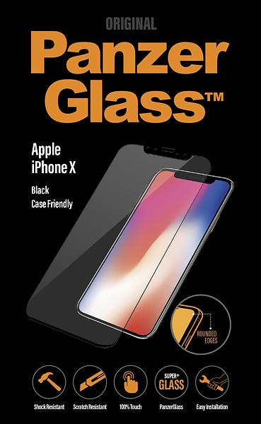 PanzerGlass Case Friendly Screen Protector for iPhone X/XS