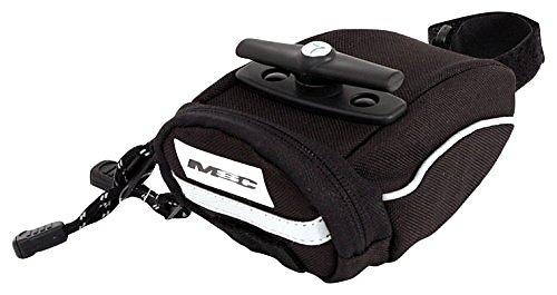 MSC Bikes Saddle Reflective Compact Bag With Double Volume