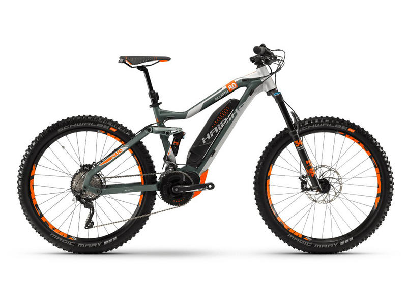 Haibike XDURO AllMtn 8.0 2018 (E-bike)