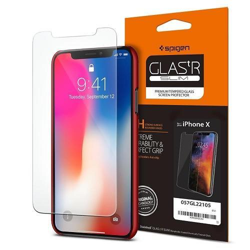 Spigen GLAS.tR Slim for iPhone X