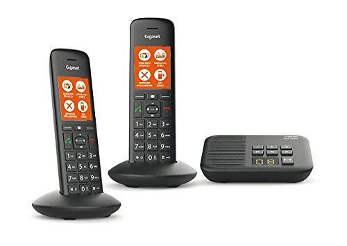 Jämför priser på Gigaset C570A Duo Trådlös telefon - Hitta bästa pris på  Prisjakt b2aa1810f3845