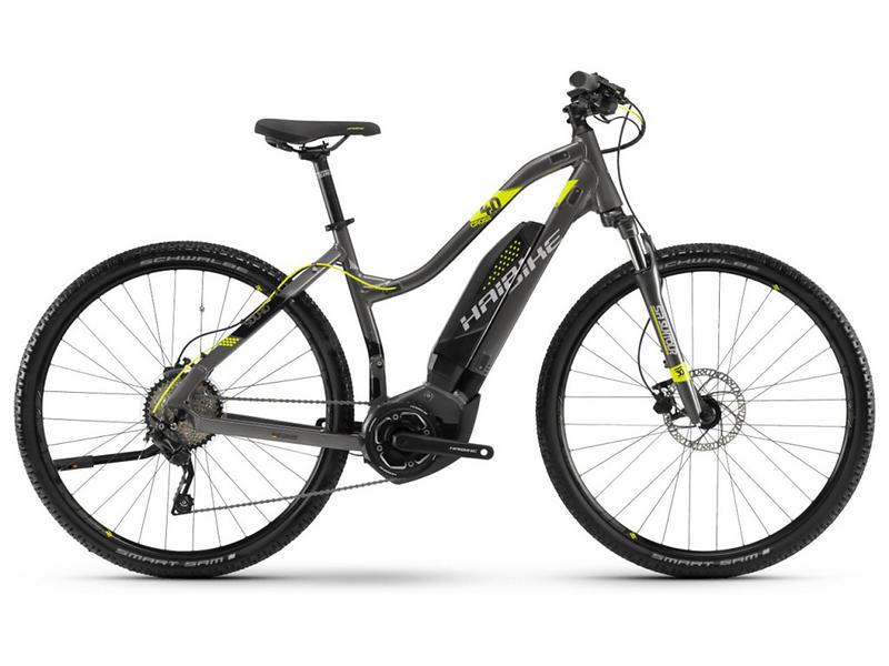 Haibike SDURO Cross 4.0 Low-Step 2018 (E-bike)