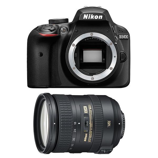 Nikon D3400 + 18-200/3,5-5,6 G ED VR II