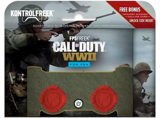 KontrolFreek FPS Freek C.O.D WWII - High-Rise Thumbsticks (PS4)