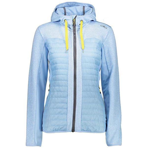 CMP Fix Hood Hybrid Knitted Jacket Full Zip 3H65176 (Donna)